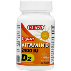 Deva Vitamin D 2400 IU