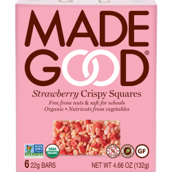 MadeGood Strawberry Crispy...